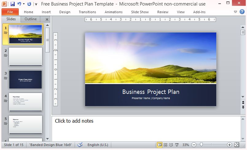 Create a Professional Business Project Plan