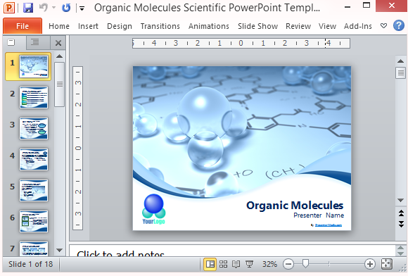 scientific powerpoint templates archives