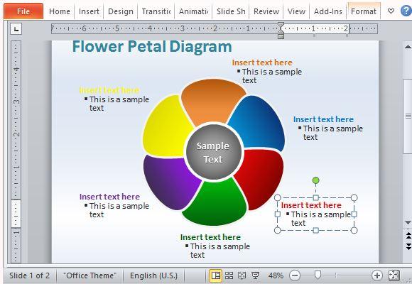 austamaria flower diagram flower petal diagram template for powerpoint flower petal diagram