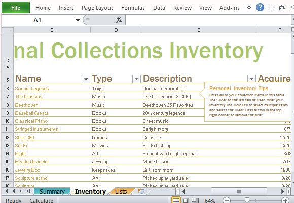 It Inventory Template. Retail Inventory And Sales Manager - Excel