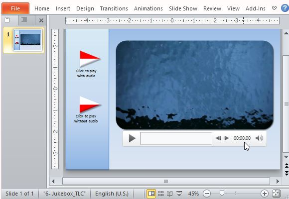 Insert Audio and Video Clips on Your Presentation