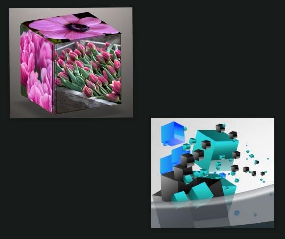 3D Box Template
