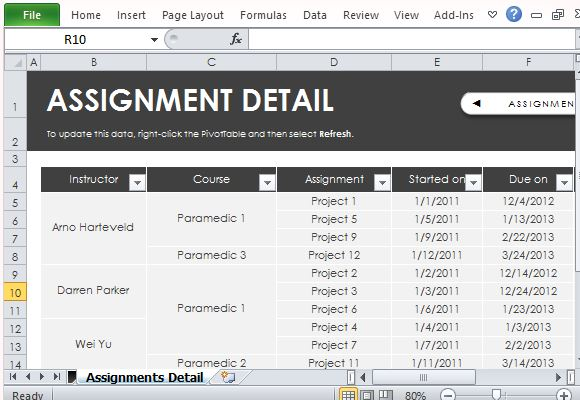 Thg task assignment manager review - Review manager