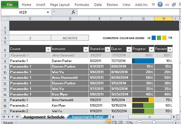 Excel Task Tracker Template. easyprojectplan screenshots excel ...