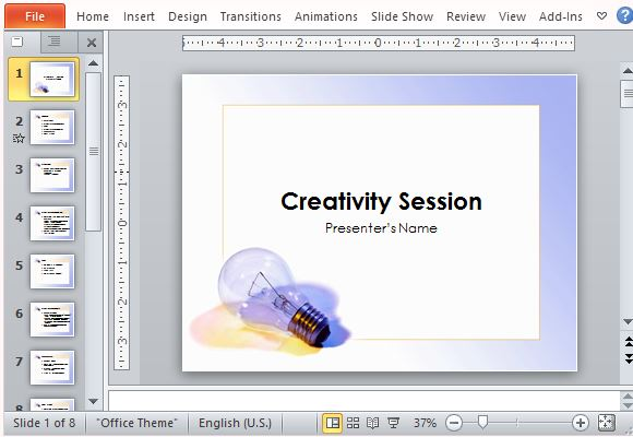 Brainstorming presentation template for powerpoint ccuart Choice Image
