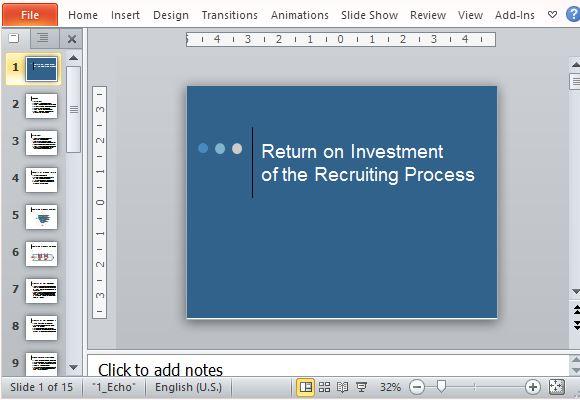 Return on investment roi powerpoint template toneelgroepblik Image collections