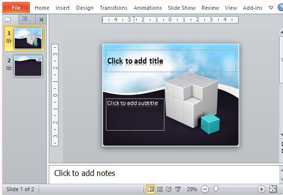 Free animated 3d cube template for powerpoint toneelgroepblik Images