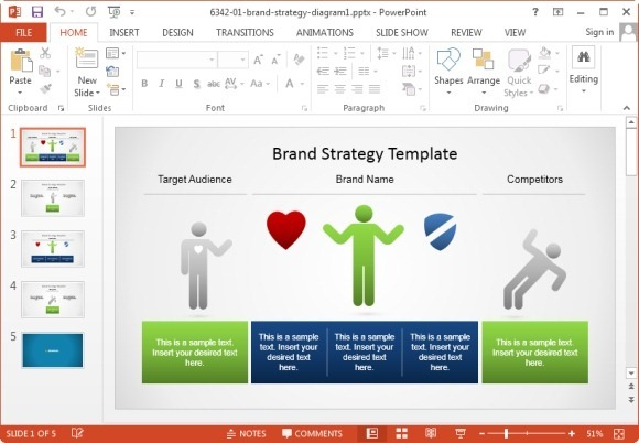 best marketing plan templates for powerpoint, Modern powerpoint
