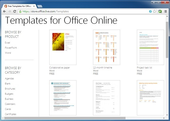microsoft office templates website