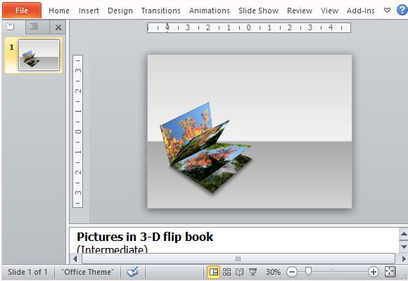 3d flipbook presentation template for powerpoint, Presentation templates