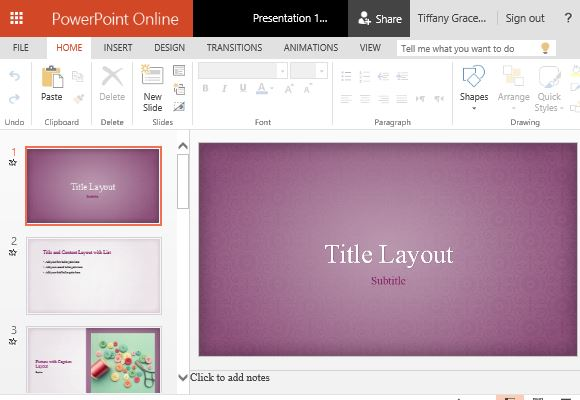 Pink floral powerpoint template toneelgroepblik Image collections