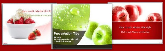 Best menu maker templates for PowerPoint