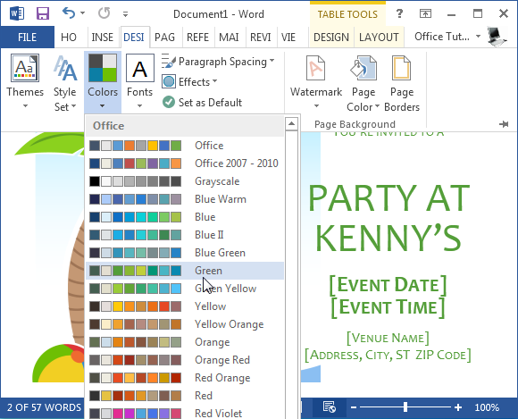 How to Make Summer Party Invitations in Word – How to Make Invitations on Word