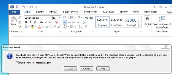 microsoft word 2013 pdf reflow