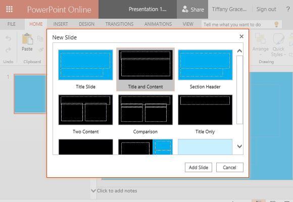 metropolitan blue widescreen powerpoint template