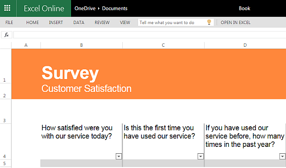 Customer Satisfaction Survey Template For Excel  Free Customer Satisfaction Survey Template
