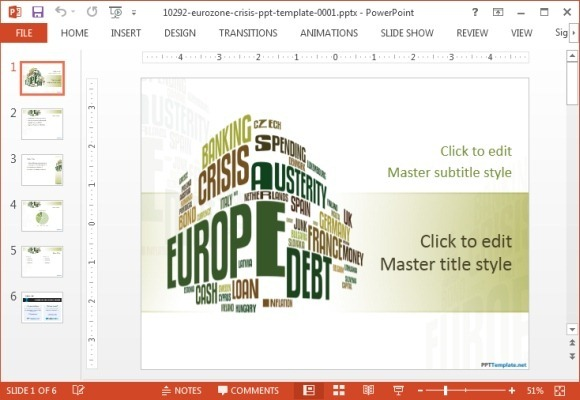 Digital billboard PowerPoint template