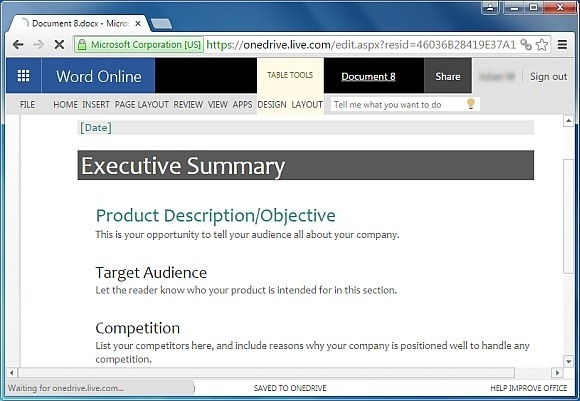 Free Executive Summary Template for Word – Executive Report Template Word