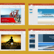 Free Beach PowerPoint Templates