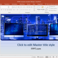 Free Data Security PowerPoint Template