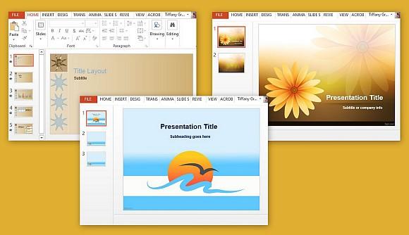 Free Sun PowerPoint Templates