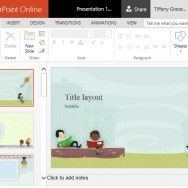 Fun and Beautiful PowerPoint Template for Education and Children Themes
