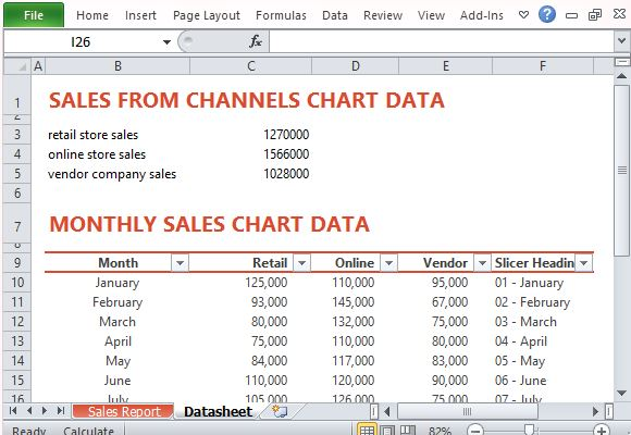 Input Data and Automatically Generate Totals and Charts