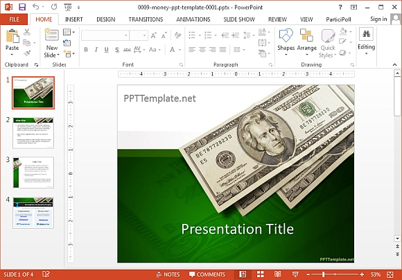Free Money PowerPoint Templates – Free Money Templates