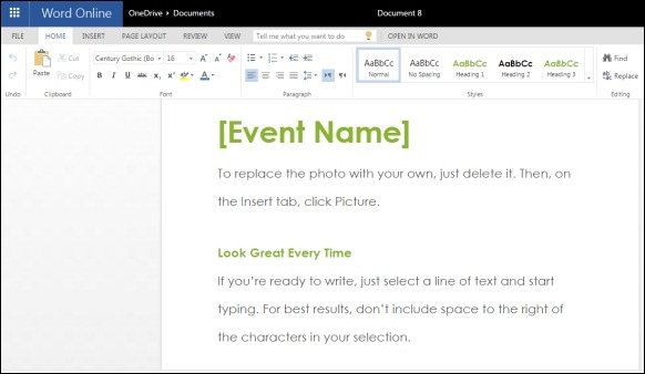 Event Invitation Template for Word Online – Event Invitation Templates