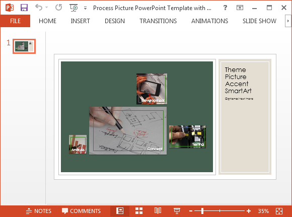 Free Collage PowerPoint Template