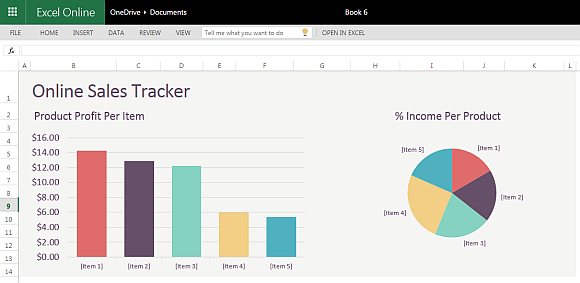 Online Sales Tracker Template For Excel Online - Excel online templates