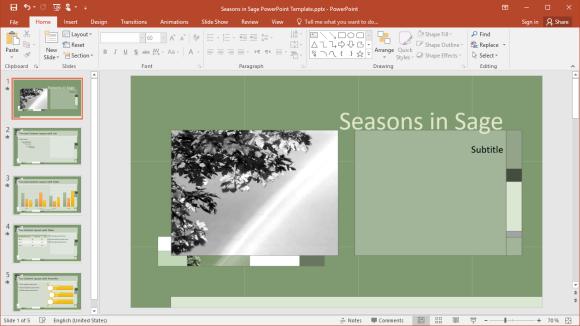 Seasons in Sage
