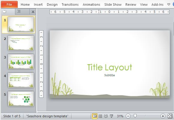 Download Free Template Powerpoint 2007