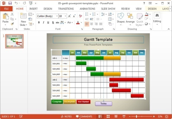 10 useful gantt chart tools templates for project management. Black Bedroom Furniture Sets. Home Design Ideas