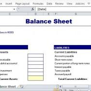 balance sheet templates archives