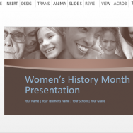 beautiful-and-powerful-women's-history-month-template