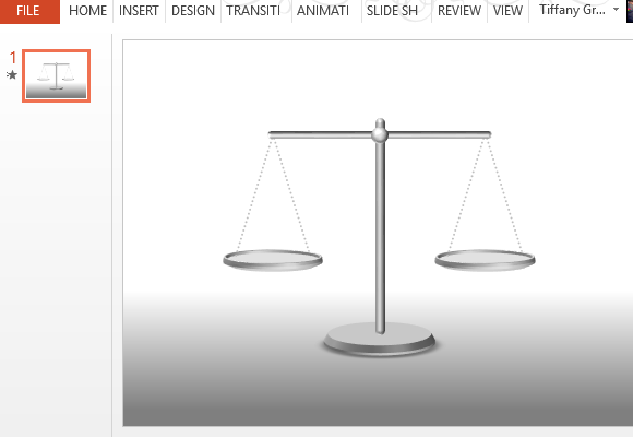 Free Animated Law PowerPoint Template