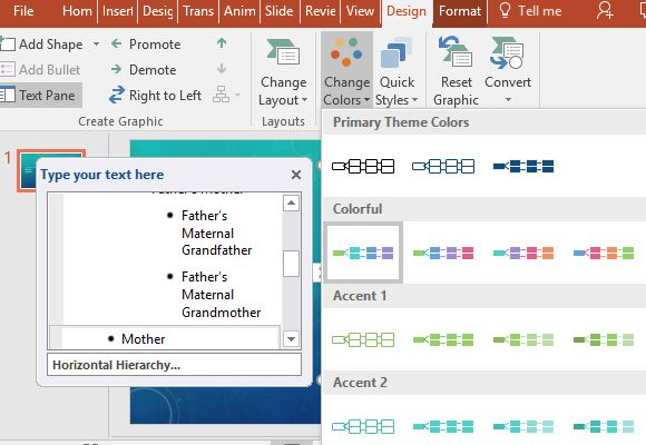 change-the-color-scheme-of-the-family-tree