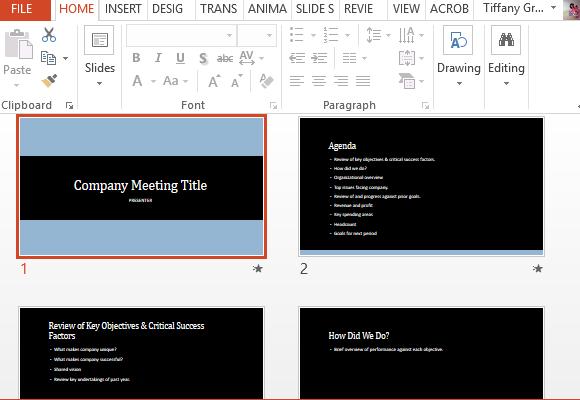 how to create a meeting agenda