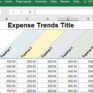 expense-trends-report-in-excel