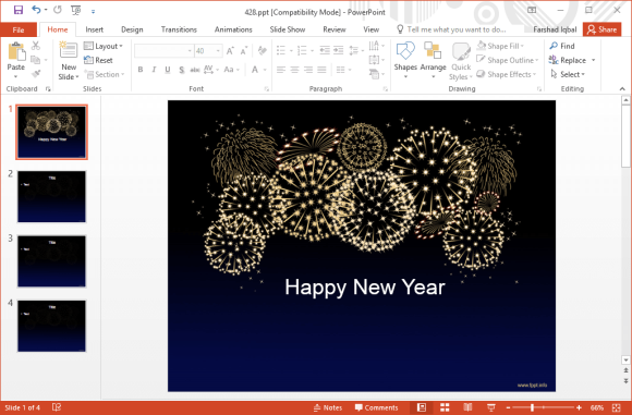 free-celebration-fireworks-powerpoint-template
