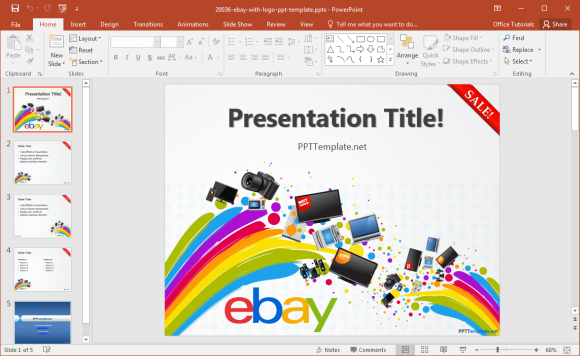 free-ebay-powerpoint-template