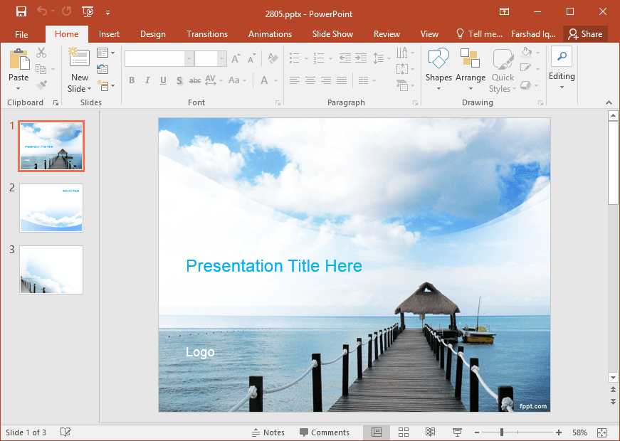 free-relaxation-powerpoint-template
