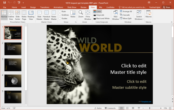 free wildlife powerpoint templates