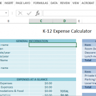 helpful-k-12-expenses-calculation-template-for-parents-and-students