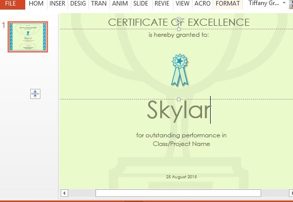 design your own certificate templates free - how to make a printable excellence certificate
