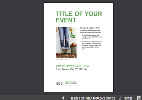 event presentation templates for powerpoint, Modern powerpoint