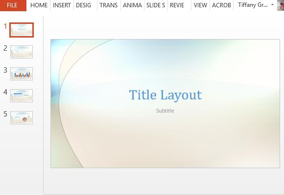 Cloud Skipper Template For Powerpoint