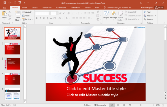 Free success powerpoint templates the free success powerpoint templates listed above provide a number of layouts that can be used by all types of presenters whether youre a student maxwellsz