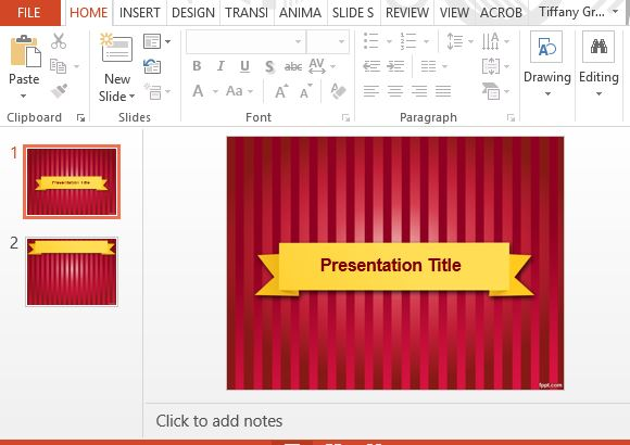 Event Presentation Templates For Powerpoint